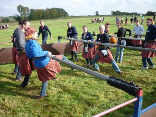 Highlandgames teambuilding