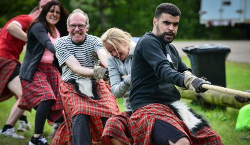 highlandgames touwtrekken